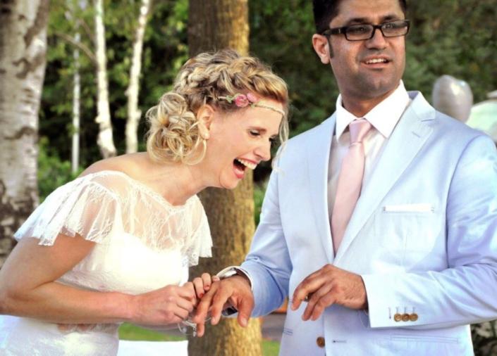 Strandhus Hochzeit Trauung